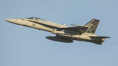 Swiss Air Force McDonnell Douglas F/A-18C J-5018 (Rob390029) Tags: swiss air force mcdonnell douglas fa18c j5018 raf leeming egxe panthers