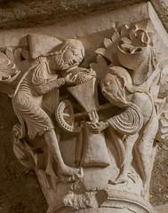 Vezelay_05 (Chris Protopapas) Tags: sony capital vezelay church abbey burgundy france sculpture romanesque wine harvest