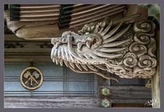 Dragon protecteur ? / Protective dragon? - Temple Daisho-in - Miyajima (christian_lemale) Tags: daishoin buddhist temple bouddhiste miyajima japon japan nikon d7100 宮島 日本