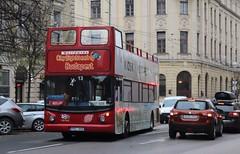 PEL908 Dennis Trident/Alexander - City Sightseeing Budapest (Ed's Bus Photos) Tags: lx03buv pel908 dennis trident alexander city sightseeing budapest stagecoach east london