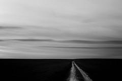 Senda marcada (una cierta mirada) Tags: canon eos 6d ef50mm f14 usm landscape minimal clouds path road nature bnw blackandwhite outdoors sunset