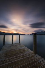 Ashness Jetty (Tony N.) Tags: ashnessjetty derwentwater lake lakedistrict cumbria cumbrie refection sunset coucherdesoleil couchant poselongue longexposure nikkor1635f4 nikon manfrotto nisi nisiprov5 nisicplpro nisignd16medium nisind1000 tonyn tonynunkovics