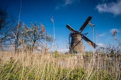 Kinderdijk. Holland
