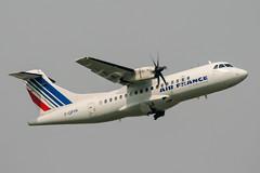 F-GPYK (PlanePixNase) Tags: aircraft airport planespotting paris cdg lfpg charlesdegaulle roissy airlinair airfrance atr42 atr 42
