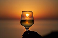 sunset Primosten, Croatia, Dalmatian (Harry 66) Tags: kroatien langzeitaufnahme sel24105g ilce7m3 sony croatia adria sunset sonnenuntergang meer europa europe lifestyle wein vino glas stimmung mood color sonne sun relax goldene stunde