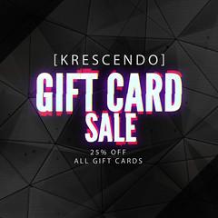 [Kres] Black Friday Sale ([krescendo]) Tags: kres krescendo giftcardsale blackfridaysale