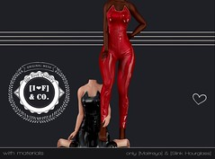 Kittysuit Gift (Ainadara Resident) Tags: i3f i3fco maitreya fashion original mesh event exclusive slink hourglass gift latex suit kitty