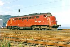 NSB Di 3 626 (Stig Baumeyer) Tags: diesellocomotive diesel diesellokomotive diesellok diesellokomotiv di3 nsb norgesstatsbaner nsbdi3 nohab nohabgm nydqvistholm trondheim trollhättan emd electromotive generalmotors gm gm16567