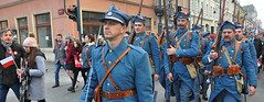 historical uniforms (rafasmm) Tags: łódź lodz poland polska europe city independence day people color nikon d90 sigma 1020 ex outdoor walk street streetphoto streetlife streets streetphotography streetscene streethunters nationalday country unity association historical reconstruction 51st infantry regiment borderland history after first world war inventory uniforms parade