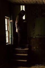 (Jennifer MacNeill) Tags: barn farm stable valleyforge pa fall autumn seasons pennsylvania knox headquarters revolutionarywar man stairs