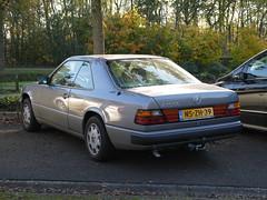 Mercedes-Benz 230CE 1988 (929V6) Tags: nszh39 sidecode5 w124 c124 230ce coupé
