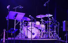 Larnell Lewis's Drum Kit (Anthony Mark Images) Tags: larnelllewis drumkit yamahadrums drumset stage grammyawardwinningdrummer snarkypuppy preshow firstontarioperformingartscentre voicesoffreedomconcert concert jazz jazzmusic bassguitar monitor drumplatform stagelights mocrophones drums cymbals stcatherines ontario canada nikon d850 flickrclickx