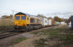 66786 at Westerfield (tibshelf) Tags: westerfield gbrf 66786 class66