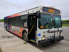 352 42 (016) Roosevelt (transit addict 327) Tags: viametropolitantransit bus newflyer d40lf sanantonio texas lg g7 phonecamera 2019