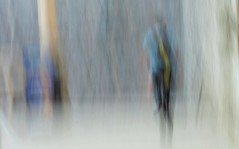 The only way out is through (Sanda_77) Tags: blur icm blue painterly artsy