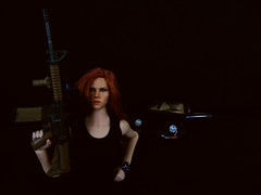 Scarlett Shadows. (Blondeactionman) Tags: bamhq agents bam scarlett shadows doll phicen photography playscale bamcomix
