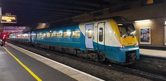 Photo of 175101 still wearing the old Arriva trains Wales livery at Birmingham International awaiting its return working 0709 1D11 to Llandudno 20/11/2019.