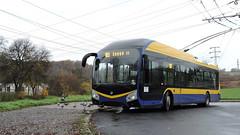 2019-11-20 Teplice Trolleybus Nr.182 (beranekp) Tags: czech teplice teplitz trolleybus trolley trolejbus trolebus obus filobus škoda tradbus arriva 182 32tr
