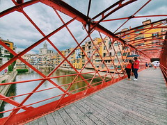 Girona.  #photography #girona #travel #architecture (arantxa.noguera.t) Tags: girona travel photography architecture