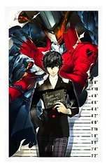 Persona 5 notebook collector (Shady_77) Tags: persona5 cookbecker collector editioncollector editionlimitée limitededition collectorsedition notebook persona