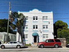 Apartment Building Little Havana 1925 (Phillip Pessar) Tags: building apartment havana little miami architecture 1925