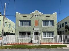Apartment Building Little Havana 1926 (Phillip Pessar) Tags: apartment miami havana little architecture building 1926