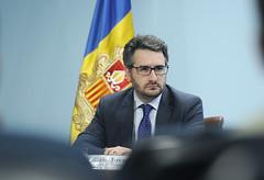 Roda de premsa posterior al Consell de Ministres.20-11-2019 (Govern d'Andorra) Tags: premsa portaveu salut jover casal martinez