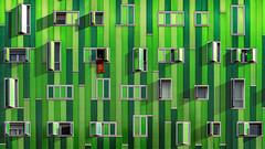 Edificio Verde (Txeny4) Tags: madrid vallecas arquitectura verde olympus penf