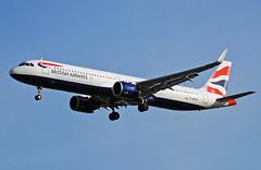 Photo of British Airways Airbus A321N G-NEOS