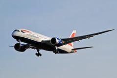 Photo of British Airways 787 Dreamliner G-ZBJC