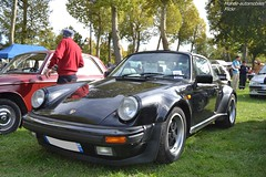 Porsche 911 SC (Monde-Auto Passion Photos) Tags: voiture vehicule auto automobile cars porsche 911 sc coupé noir black sportive collection légende ancienne classique rassemblement france montereaufaultyonne