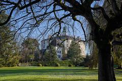 Schloss Ambras - Innsbruck (Ernst_P.) Tags: tirol österreich herbst innsbruck aut schlossparkambras art 50mm austria f14 sony sigma tyrol autriche a99ii