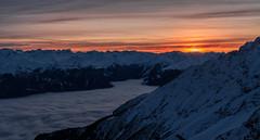 Winter Magic (zirano) Tags: nebel alpen berge sonnenuntergang nebula alps tirol tyrol mountains