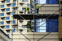 Under construction 0109 (gunnar.berenmark) Tags: stockholm stad city urban sweden sverige gävlegatan byggnadsarbetare byggarbetare contructionworkers