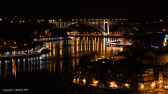 Night Time View across the Douro (Holfo) Tags: porto portugal douro nikon d7500 city night nightime river reflections town buildings curves portuguese europe cityscape riverview riverchannel sbend riverbends