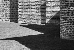Wall /Grass /Shadow (stephenbryan825) Tags: albertdock britain england europe greatbritain liverpool merseyside northwest royalalbertdock uk unitedkingdom architecture bricks brickwork buildings construction dwelling edifice graphic grass manmade property shadows structure walls