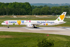 D-ABON (PlanePixNase) Tags: aircraft airport planespotting haj eddv hannover langenhagen condor 757 757300 boeing b753 willi