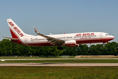 D-ABAS (PlanePixNase) Tags: aircraft airport planespotting haj eddv hannover langenhagen boeing 737 airberlin 737800 b738