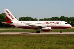D-ABGC (PlanePixNase) Tags: aircraft airport planespotting haj eddv hannover langenhagen airberlin airbus 319 a319