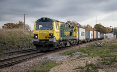 70001 at Westerfield (tibshelf) Tags: westerfield freightliner 70001 class70