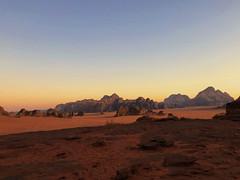 Last light over Jordan's stunning Wadi Rum desert (peggyhr) Tags: peggyhr wadirumarabicواديرم valley sandstone granite jordan sunset mountains desert carolinasfarmfriends level1pfr rainbowofnaturelevel1red