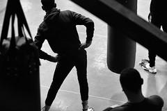 Club de boxe, Boxingbeats, Aubervilliers, France (johann walter bantz) Tags: sportsphotographe sport reportage banlieueparisienne 85mm nikond4s fitness bnw blackandwhite monochrome boxingbeats aubervilliers boxingclub boxing clubdeboxe