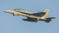 Swiss Air Force McDonnell Douglas F/A-18D J-5233 (Rob390029) Tags: swiss air force mcdonnell douglas fa18d j5233 raf leeming egxe
