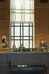 Preparing for the confirmation hearing (OregonDOT) Tags: krisstrickler director oregondot oregon people hearing
