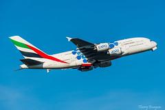 "[CDG] Emirates  ""Dubai Expo 2020 Livery"" Airbus A380-861 _ A6-EOT (thibou1) Tags: thierrybourgain cdg lfpg spotting aircraft airplane nikon d810 emirates livery dubaiexpo2020 airbus airbusa380 a380 a380861 a6eot tamron sigma takeoff a380800 uae dubai"