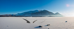 Photo of Bassenthwaite frozen