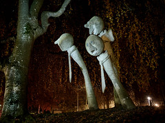 RM-2019-365-324 (markus.rohrbach) Tags: objekt kunst skulptur natur pflanze baum thema fotografie lichtmalerei nachtaufnahme projekt365