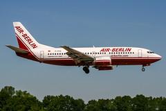 D-ADIJ (PlanePixNase) Tags: aircraft airport planespotting haj eddv hannover langenhagen b733 737300 737 airberlin