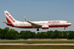 D-ABAQ (PlanePixNase) Tags: aircraft airport planespotting haj eddv hannover langenhagen boeing 737 airberlin 737800 b738