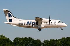 OE-LKD (PlanePixNase) Tags: aircraft airport planespotting haj eddv hannover langenhagen airalps airaps dornier do328